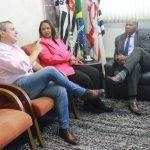 Vice-Presidente de relações Corporativas da Coca-Cola, Visita a Zumbi